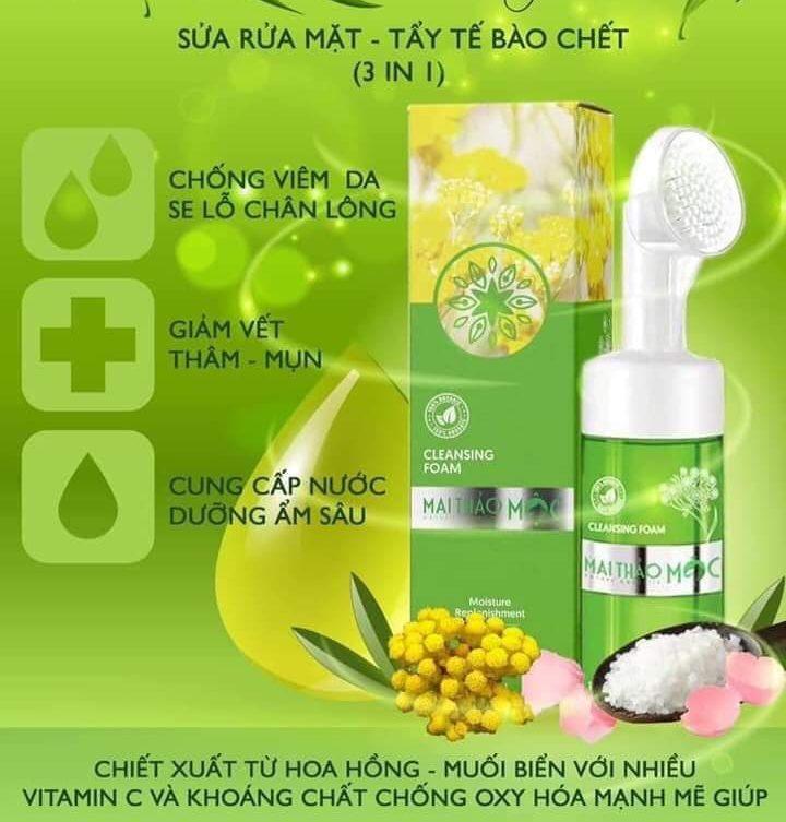Công Dụng Sữa Rửa Mặt Mai Thảo Mộc (Dr Mai)